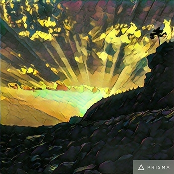 Bandra fort. Prisma effect.
